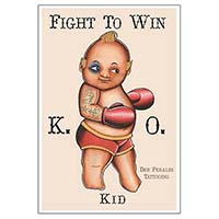 Fight To Win- Fine Art Print by Tip Top Industries