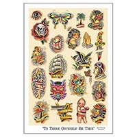 To Thine Ownself- Fine Art Print by Tip Top Industries