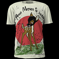 Your Mother is Dead Shirt by Western Evil