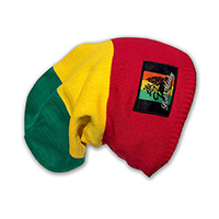 Bob Marley- Blocking Tam Color Scrunch Beanie