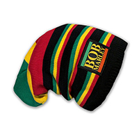 Bob Marley- Multi Color Scrunch Beanie